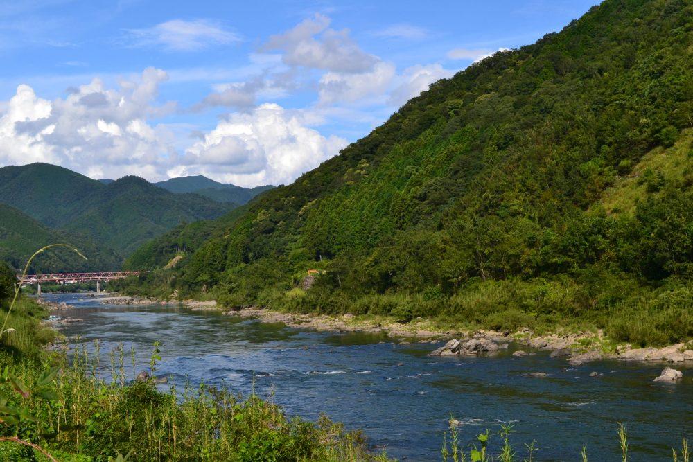 四万十川の眺め