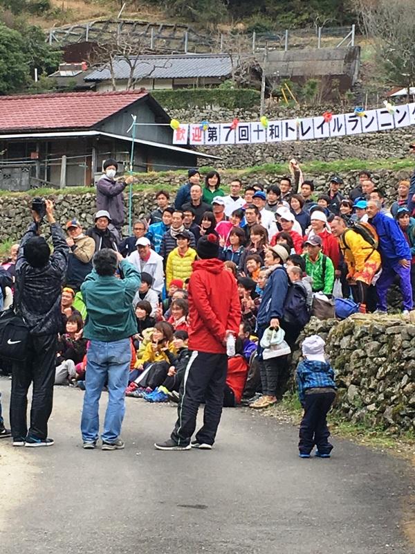 トレイルランニング参加者集合写真