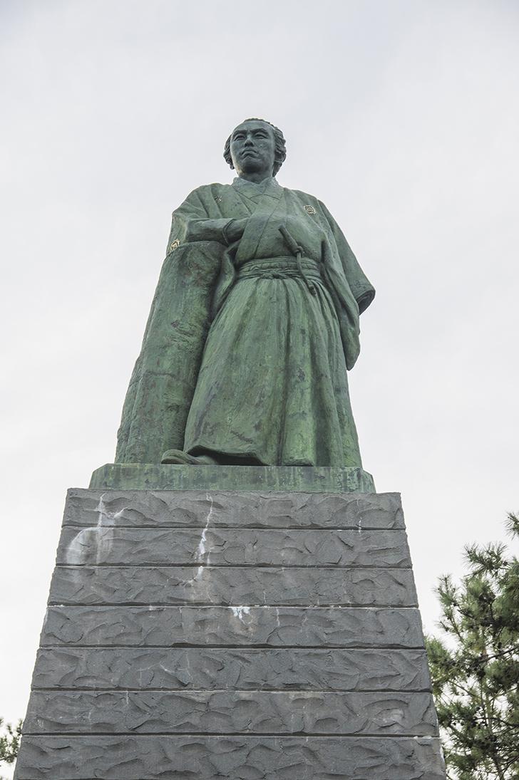 高知の龍馬像