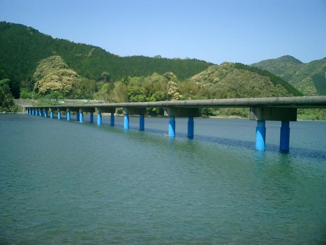 四万十市佐田沈下橋