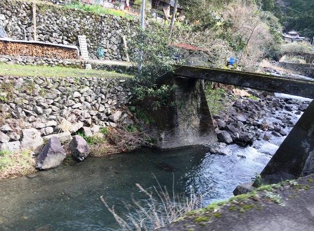 川と小さな橋